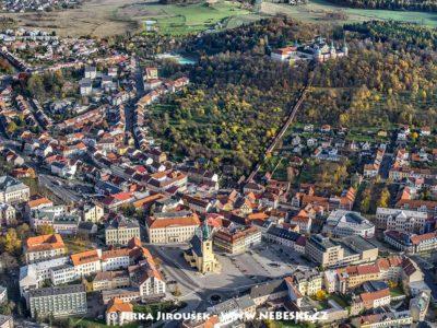 Příbram – centrum a Svatá Hora .J1580