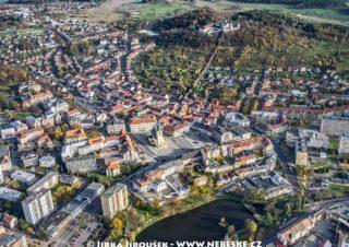 Příbram – centrum a Svatá Hora s Oborou J1581