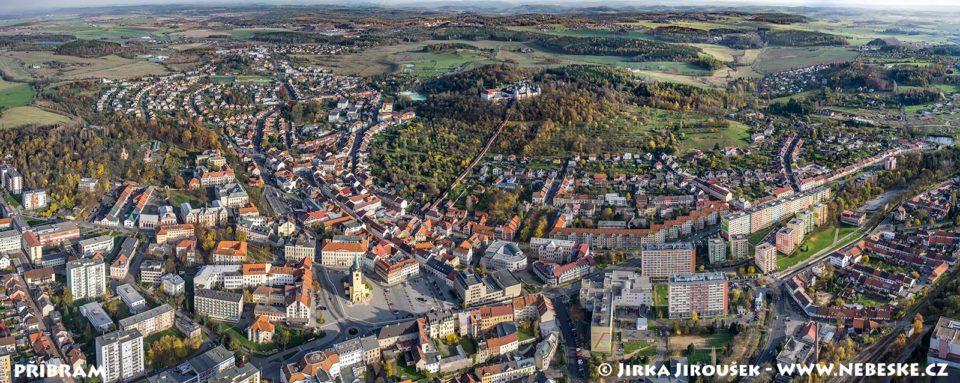 Příbram-podzimní panorama J1577