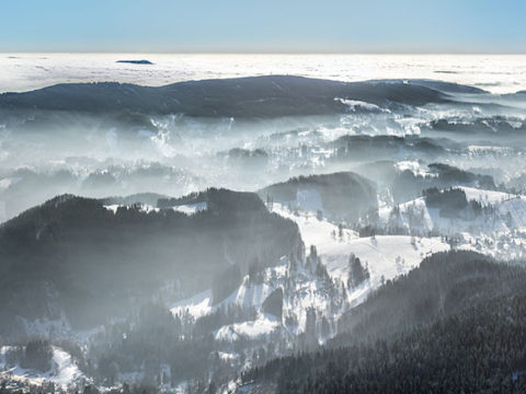 Jizerské hory od Tanvaldského Špičáku J1637