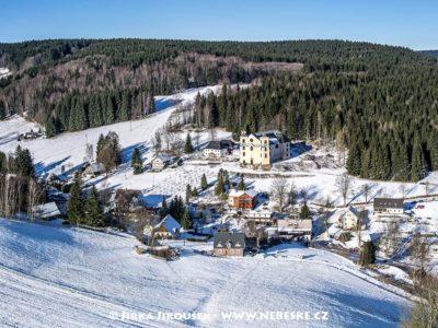 Neratov v Orlických horách – zimní J1641