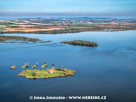 Mušov – ostrov a kostel J1666