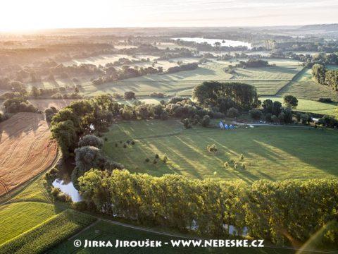 Řeka Opava J1859