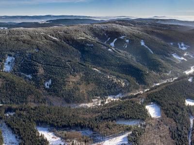 Zimní Orlické hory J1900