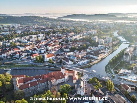 Strakonice hrad a Otava J1941