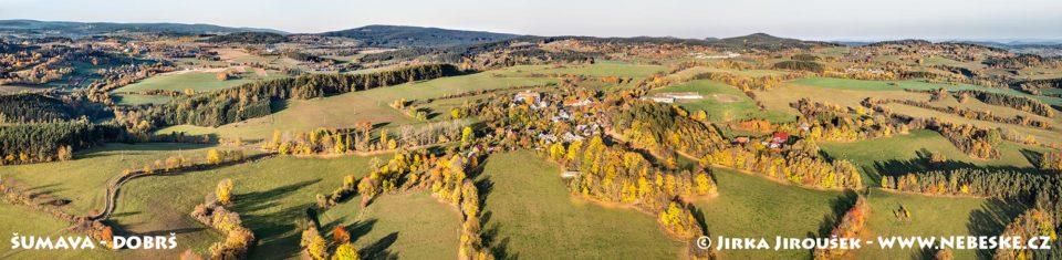 Dobrš-říjnová panorama J1961