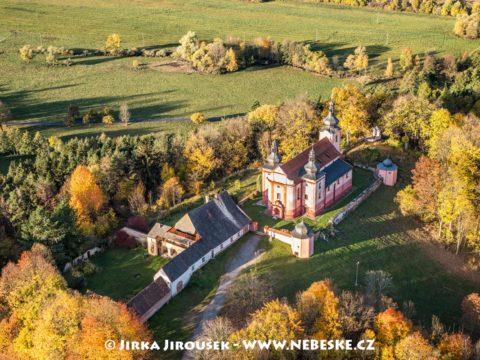 Strašín – Kostel Narození Panny Marie J1945