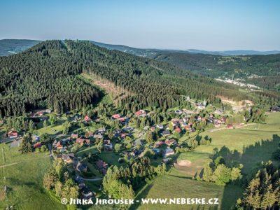 Albrechtice v Jizerských horách a Špičák J2041
