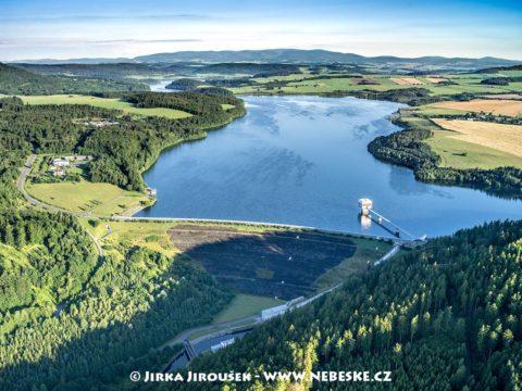 Vodní nádrž Slezská Harta J2202
