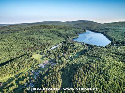 Souš a přehrada Souš v Jizerských horách J2234