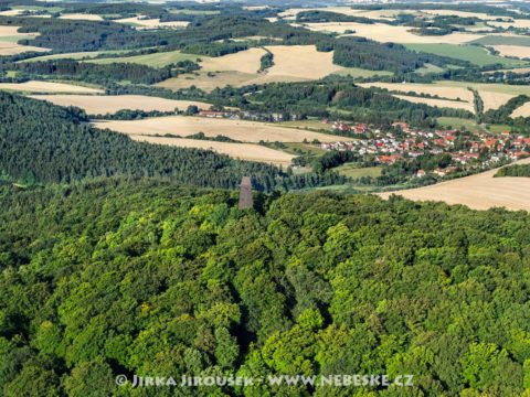 Rozhledna na Blaníku a Louňovice pod Blaníkem J2259