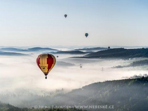 Balóny Nový Knín J2379