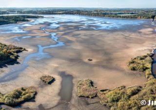 Rybník Rožmberk v den výlovu J2300