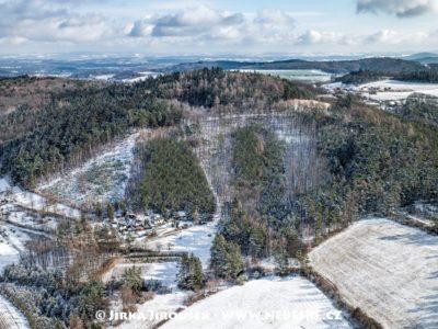 Vysoký Újezd na Benešovsku – kopec Holý J2314