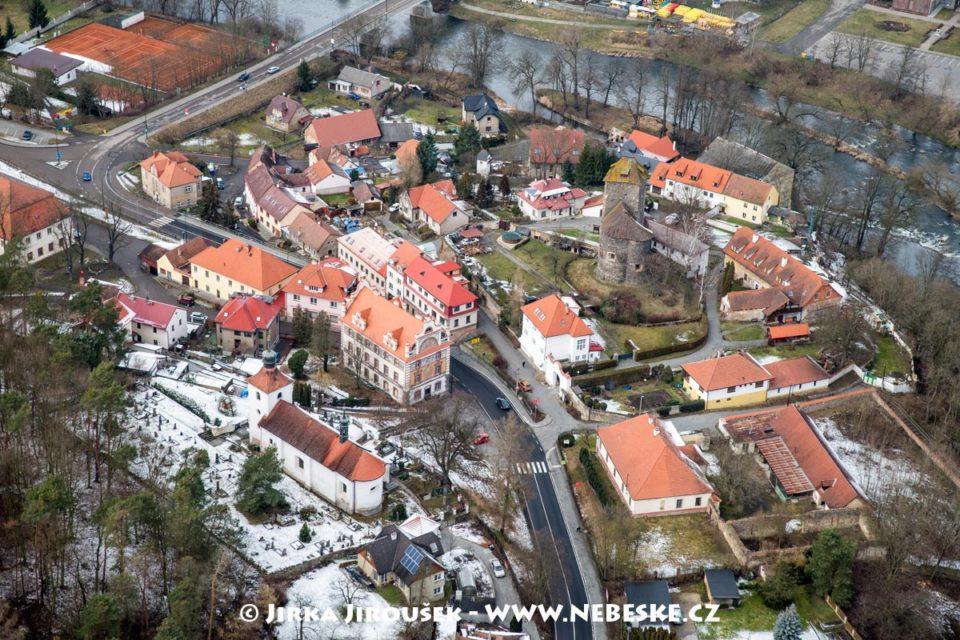Týnec nad Sázavou – hrad J2327