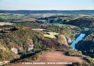 Srbsko a Berounka a skály J2549