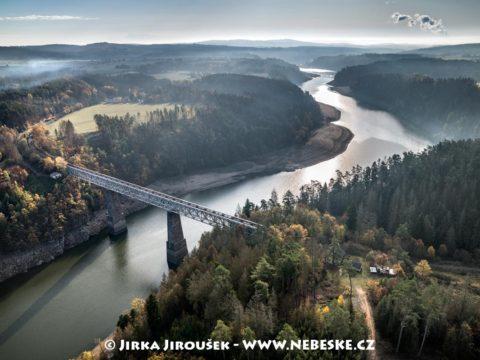 Železniční most u Červené 2019 J2803