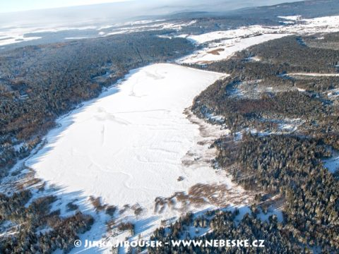 Zimní Padrťské rybníky J3002