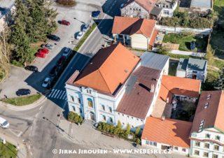 Dobříš – bývalá synagoga J3114