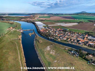 Vraňany – kanál a Vltava J3122