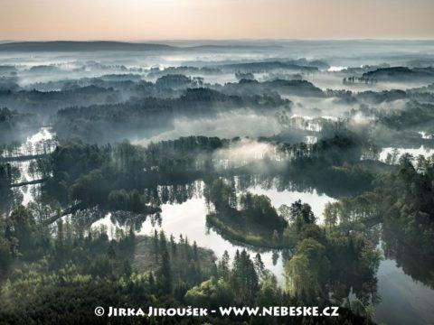 Chlum u Třeboně – rybníky Černá Řepů, Černá Kopytů J3295