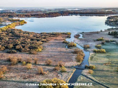 Rybník Rožmberk od Třeboně J3322