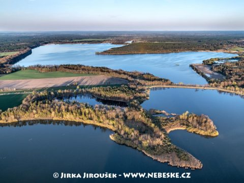 Rybník Rožmberk a Káňov J3323