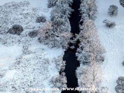 Třeboňsko – Nová řeka zimní J3217