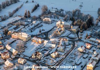 Chlum u Třeboně v zimě J3242
