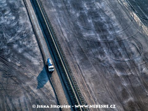 Doprava uhlí do elektrárny je na pásech J3415